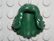 LEGO Dark Green Minifigure Hair Female Mid-Length Wavy She-Hulk