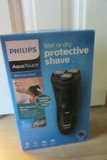 Philips AquaTouch Electric Shaver Wet & Dry Rechargeable Cordless AT899/06   NEW