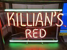 Killian's Red Neon Orange& green Bar Light Sign 19�W X 13� H Open But Never Used
