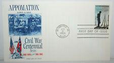 1965 FDC Appomattox Civil War Centennial Series 5c Cover #1182