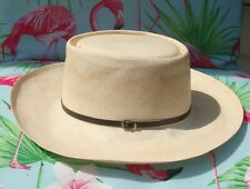 Dobbs Fifth Avenue Panama Hat 6 7/8 The Gambler