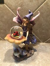 Mystic Fairy Figurine With Snowglobe Designed By Anthony Fisher-David Enterprise