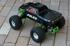 Custom Body Police Style for Traxxas Skully Grave Digger 1/10 Truck Car Shell