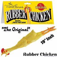 "Loftus ""The Original"" World Famous Rubber Chicken - Classic Fun Gag Joke Toy"