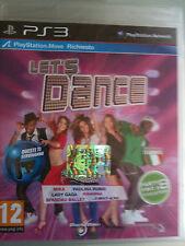 LET'S DANCE WITH MEL B -RICHIEDE MOVE-  ITALIANO ( LETS )  PS3 NUOVO SIGILLATO