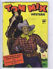 Tom Mix Western #3 Fawcett Pub.  1948