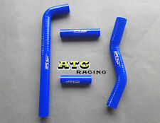 Silicone Radiator Hose for YAMAHA YZ250F YZF250 2002 2003 2004 2005 BLUE