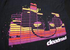DEADMAU5 House Techno Black Break Out Blocks Adult Small T-Shirt NWT