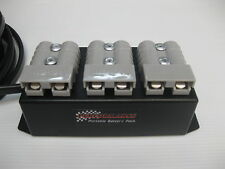 Accessory box Triple Anderson Plugs camper 4x4 12volt AGM Caravan Dual Battery