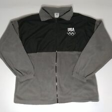 USA Olympic Committee USA Full Zip Jacket Men's Size Large