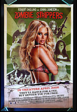 ZOMBIE STRIPPERS * CineMasterpieces ORIGINAL SS MOVIE POSTER JENNA JAMESON PORN