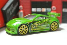 Hot Wheels Nissan 350Z - Green - Loose - 1:64