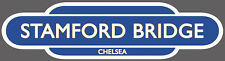 CHELSEA RAILWAY TOTEM FOOTBALL SIGN. INSIDE OR OUTSIDE USE. STAMFORD BRIDGE