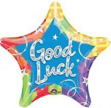 Set of 2 Anagram International  Good Luck Blitz Prism Packed Balloon, 19""
