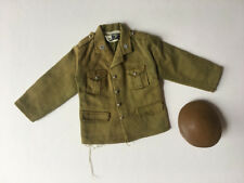 REDUCED Palitoy Action Man British Officer army soldier combat jacket hat green