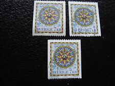 SUEDE - timbre yvert et tellier n° 1989 x3 obl (A29) stamp sweden (T)