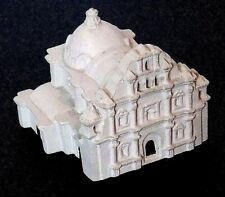 VINTAGE POTTERY MODEL OF QUEZALTEPEQUE CHIQUIMULA GUATEMALA COLONIAL CHURCH