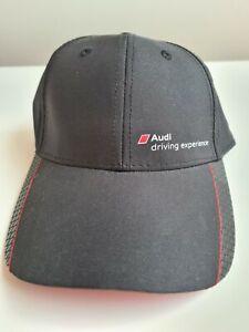 New Genuine Audi Sports Black Cap from Frankfurt Germany R8 experience