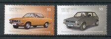 Alemania 2017 estampillada sin montar o nunca montada Clásico Autos Coches Vw Golf Volkswagen 2 V Opel Manta conjunto de sellos