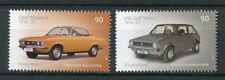 Allemagne 2017 neuf sans charnière Classic autos voitures VW Golf Volkswagen Opel Manta 2 V SET STAMPS