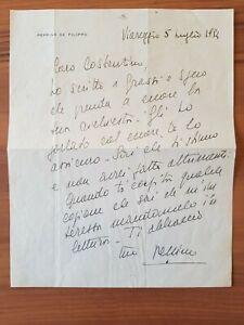DE FILIPPO Peppino (Napoli 1903 – Roma 1980)
