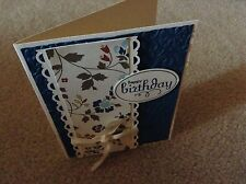 Birthday Card Kit with Envelopes. Stampin Up Navy