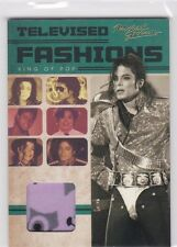 2011 PANINI MICHAEL JACKSON TELEVISED FASHIONS WORN DIANA 1971 SHIRT SP TV1
