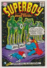 SUPERBOY #136 F, In the 50th Century, Krypto, Superman, DC Comics 1967
