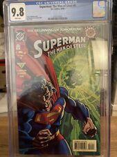 Superman:The Man Of Steel #0 CGC 9.8 1994