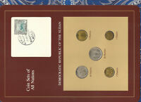 Coin Sets of All Nations Sudan UNC 1983 20,10,2,1 Ghirsh 5 Ghirsh KM#110.1