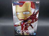 BANPRESTO Q posket IRON MAN Special Color MARVEL B Avengers Figure JAPAN qposket