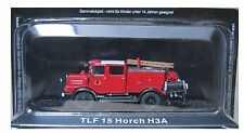 "DIE CAST "" TLF 15 HORCH H3A "" FIREFIGHTERS OF FIRE FIRE TRUCK SCALE 1/72"