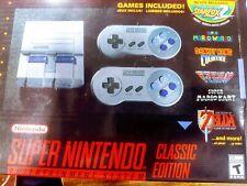 Super Nintendo Entertainment System Classic Snes Mini Edition 21 Games New