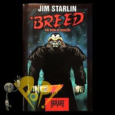 BREED The BOOK of GENESIS Malibu Comics SIGNED by STARLIN 1st Ed Bravura SC 1994