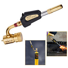 Gas Ignition Torch Brazing Solder Propane Brazing Welding Plumbing Gun New