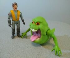 The Real Ghostbusters - Slimer - Kenner 1984 plus Peter Venkman