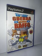 Ps2 Tom & Jerry in guerra all'ultimo baffo Prima Stampa pal art 528