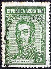 POSTAGE STAMP ARGENTINA VINTAGE JOSE DE SAN MARTIN GENERAL ART PRINT BMP1249A