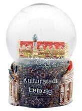 Schneekugel Leipzig Rathaus,Thomaskirche,Snowglobe Germany Souvenir