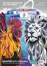 League One Final Football League Fixture Programmes