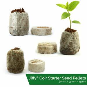 Jiffy Coir Propagation Pellets Grow Blocks Peat Free Eco Friendly Compost