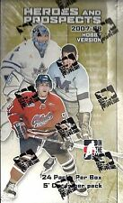 2007-08 In the Game Heroes & Prospects Factory Sealed Hockey Hobby Box