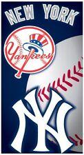 New York Yankees Baseball Pool Bath Beach Souvenir Towel Licensed 28x58 NEW LIC