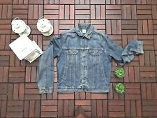 GIACCA DI JEANS TOMMY HILFIGER TG. S EFFETTO USED WASH TEA VINTAGE ORIGINALE