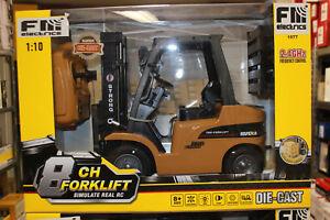 Huina Fm 1577 Forklift Forklifts Metal 1:10 RC Model 2,4 GHZ