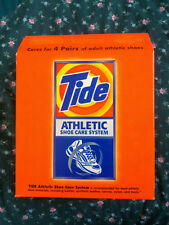 Athletic Shoe Care System Tide cleans soften freshen 4 pair adult sneakers 8 kid