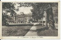 CPA  54 - LUNEVILLE - les Bosquets et Le château