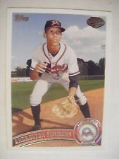 ANDRELTON SIMMONS RC 2011 Topps Pro Debut baseball card 207 BRAVES ANGELS ROOKIE