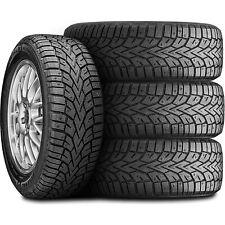 4 New General Altimax Arctic 12 22550r17 98t Xl Winter Snow Tires Fits 22550r17