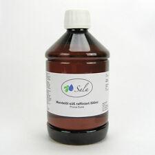 (11,38/L) Sala Mandelöl süß raffiniert Ph. Eur. Mandel Öl Massageöl Basis 500ml